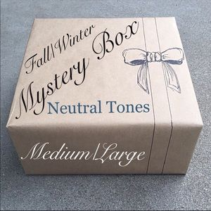 Other - Neutral Classic Style MYSTERY Box Sz. Medium/Large